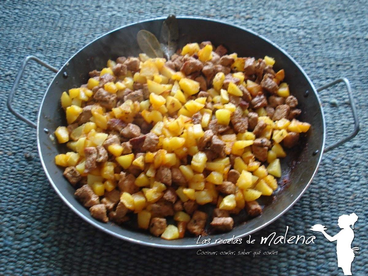 zorza con patatas