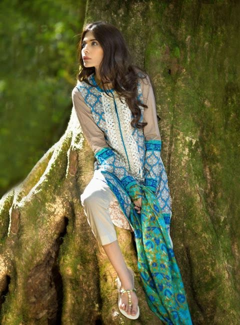 Sana Safinaz Spring Lawn Prints Collection