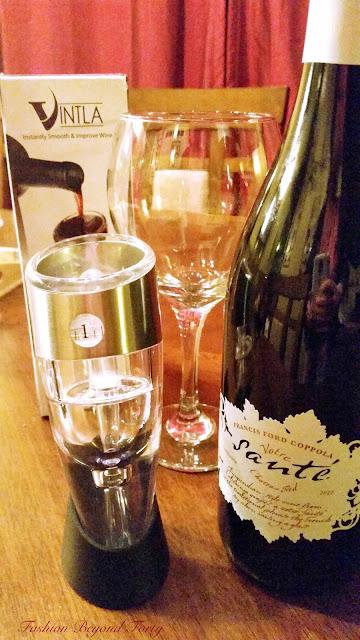 The Perfect Glass of Wine with Vintla Adjustable Wine Aerator