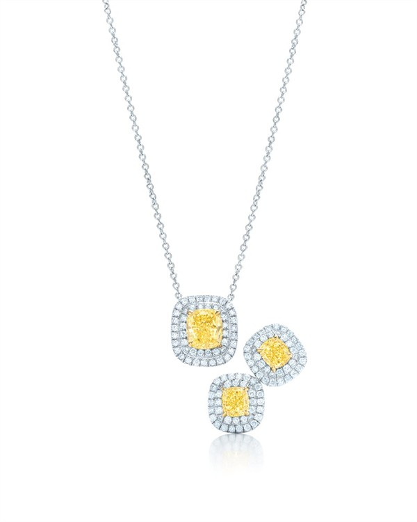 The tiffany yellow diamond collection