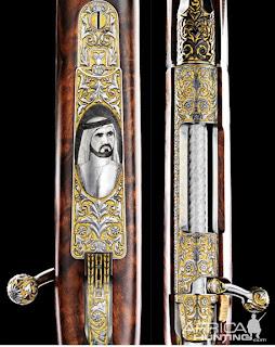 H.H. Sheikh Zayed Bin Sultan Al Nahyan Mosque Rifle