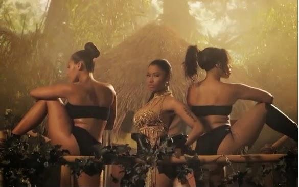 "Veja prévia do clipe ""Anaconda"" de Nicki Minaj"