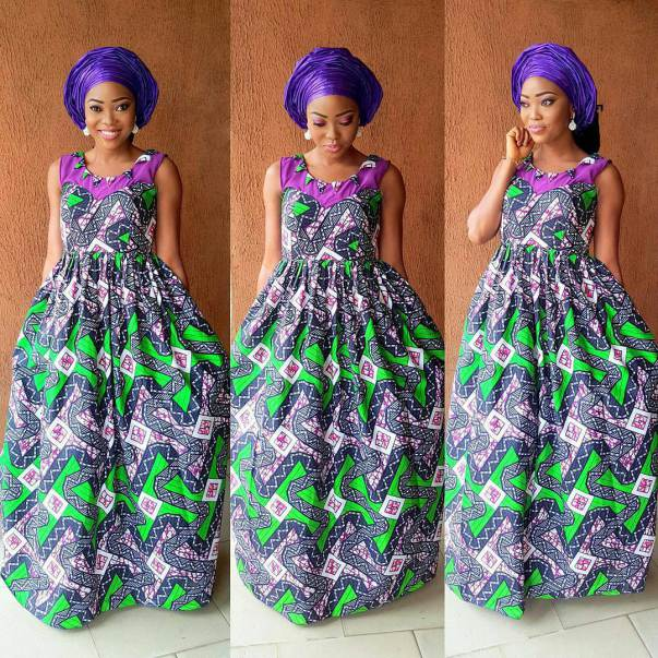 Creative Ankara Long Gown Style - DeZango Fashion Zone