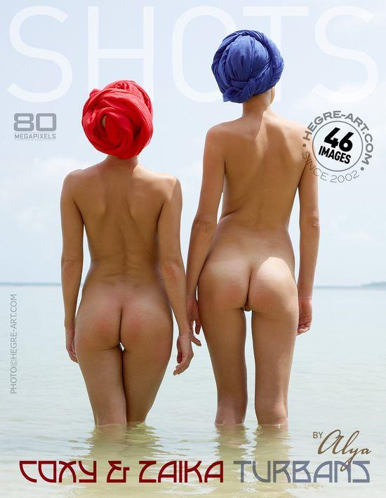 Hegre-Art29 Coxy & Zaika - Turbans By Alya 10150