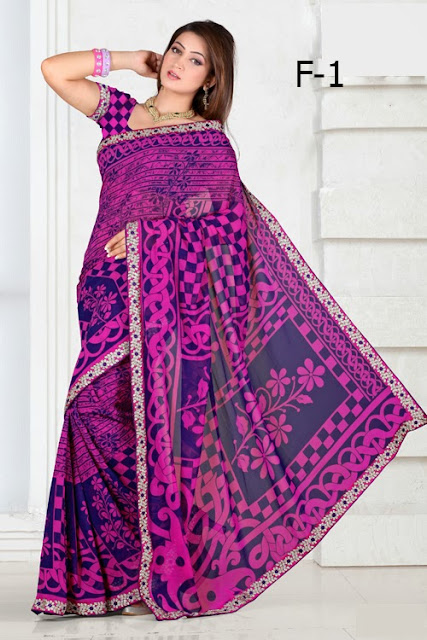 Online Shopping For New Designer Printed Saree