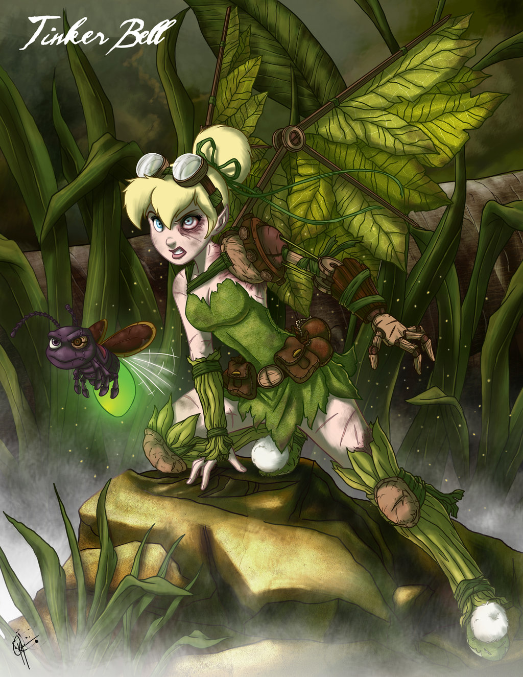 Twisted Fairies: Tinker Bell por jeftoon01