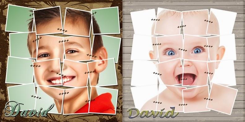 Tutorial Photoshop Español - Diseño plantilla Foto Collage ...