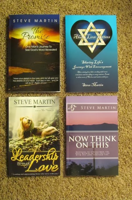 Steve Martin's Books Are  Available