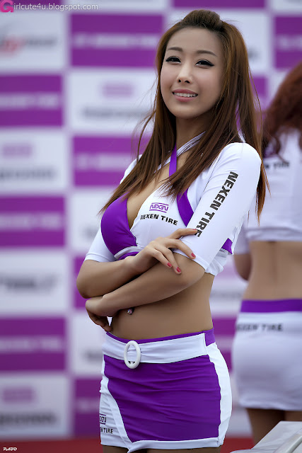 4 Jang Yoo Seul - Nexen Speed Racing-very cute asian girl-girlcute4u.blogspot.com