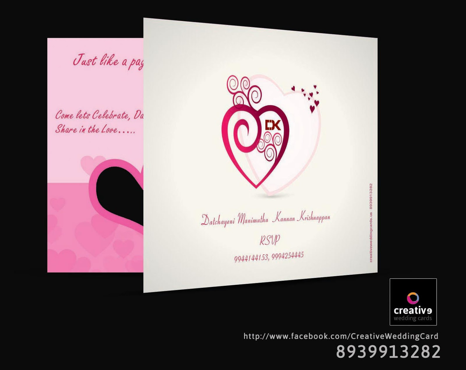 creative wedding cards in chennai - 28 images - unique wedding cards ...