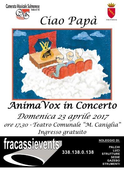 DOMENICA 23 APRILE TEATRO MARIA CANIGLIA