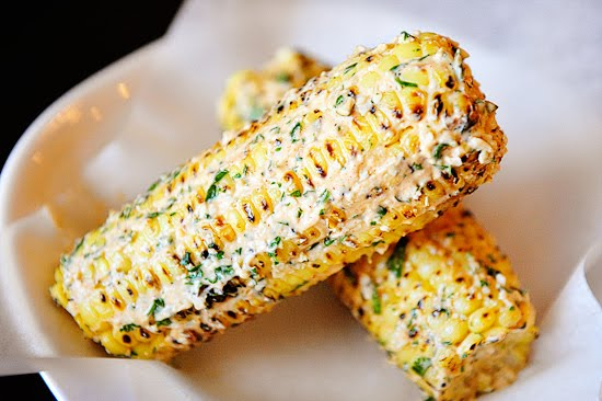 Mexican Roasted Corn on the Cob