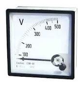 volt meter listrik