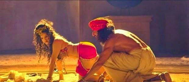 Hot Sunny Leone Gets Skin Infection Ek Paheli Leela Scene