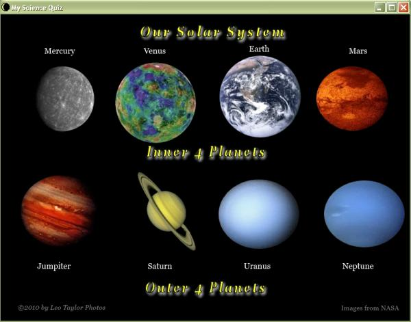 information about the inner planets - photo #26