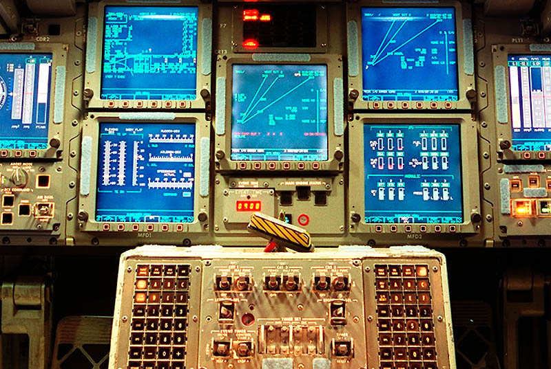 Space Shuttle Instrument Panel : Mindless mirth instrument panels simple to unbelievably