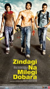 Zindagi Na Milegi Dobara (2011 - movie_langauge) - Hrithik Roshan, Farhan Akhtar, Katrina Kaif, Ariadna Cabrol, Abhay Deol, Lolo Herrero, Kalki Koechlin, Mandi Sidhu, Naseruddin Shah