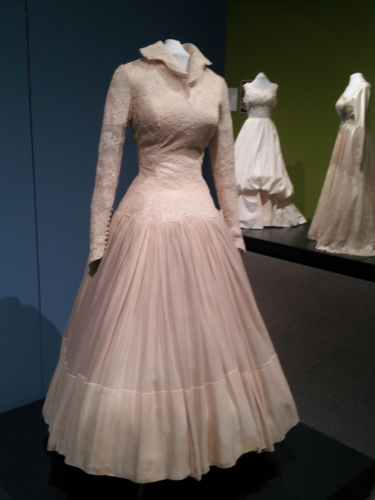 1800s wedding dresses vintage bridal gowns on view