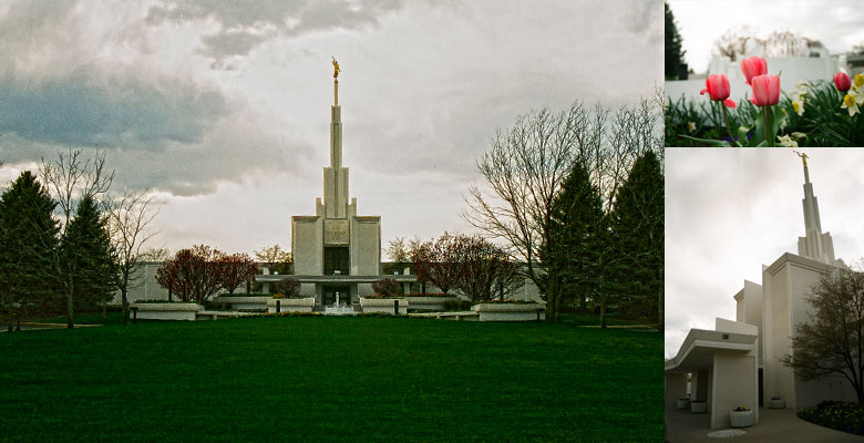 Denver Colorado Temple, April 2, 2005