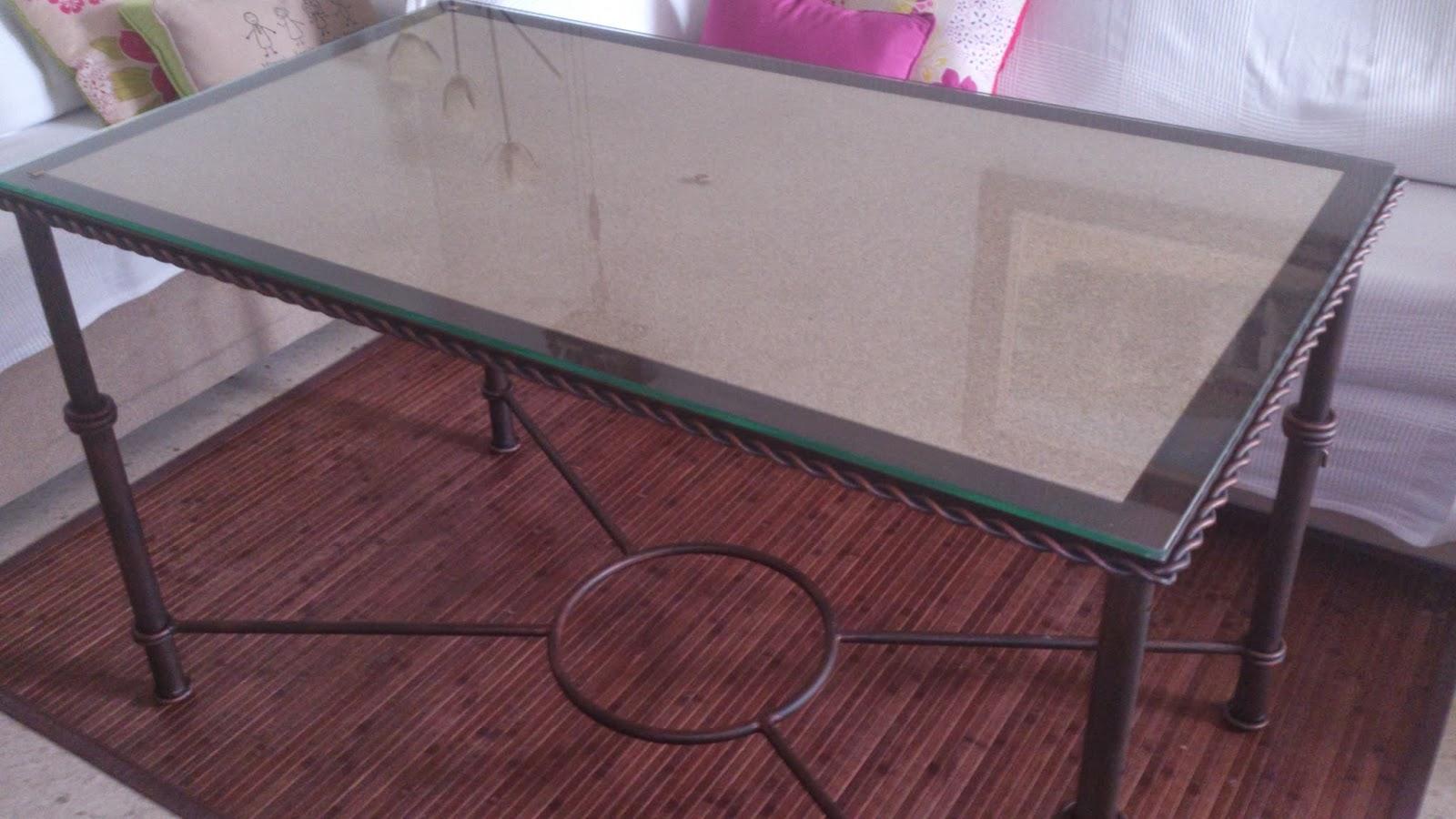 Mesas elevable y con brasero y para camilla en forja - La mesa camilla ...