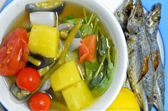 Bulanglang Filipino Vegetable Recipe