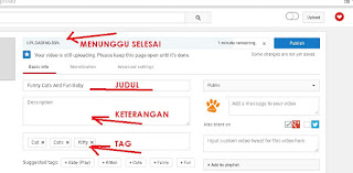 Cara Meng-upload video ke Youtube 4