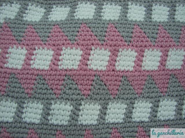 la ganchillería: Tapestry crochet: qué y cómo