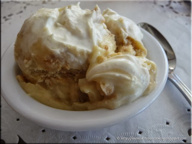 banana pudding at The Lady & Sons