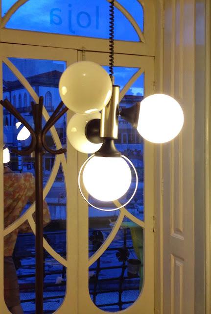 candeeiro, iluminação vintage, a Porta Verde