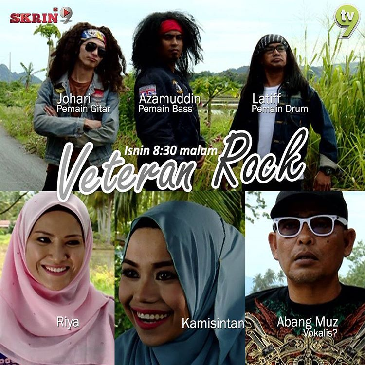 Tonton Veteran Rock Telemovie