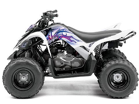 Yamaha pictures 2013 Raptor 90 ATV. 480x360 pixels