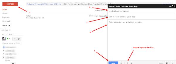 Cara Kirim Email Lewat Gmail, Yahoo dan Live