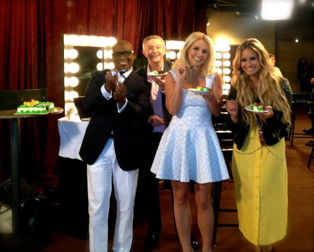 Britney Spears sings happy birthday to L.A. Reid