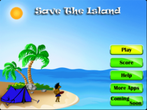 Game Save The Island Pro For BlackBerry
