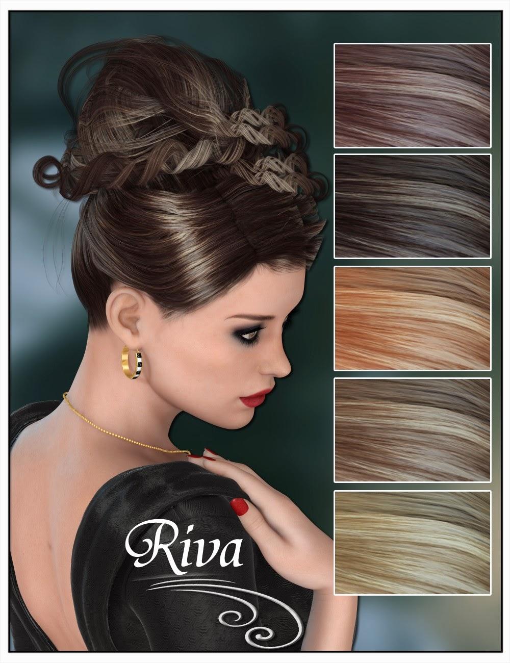 Riva Updo cheveux