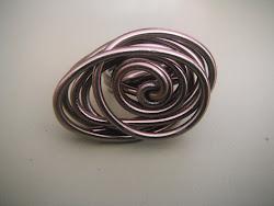 Otro anillo, éste  de hilo.
