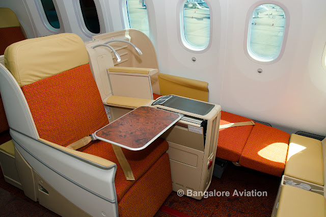 Photos and Videos: Air India's Boeing 787-8 Dreamliner ...