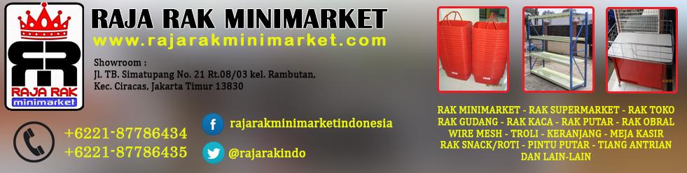 Rak minimarket Bandung, Jawa Barat