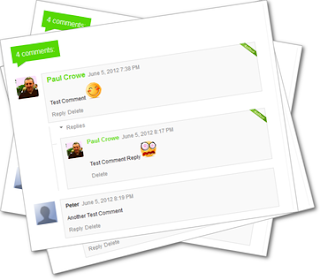 Customize Color And Style For Blogger Threaded Comments