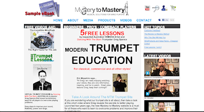 Mystery to Mastery Trumpet. Trumpet education website for players of all standards. in Directorypax