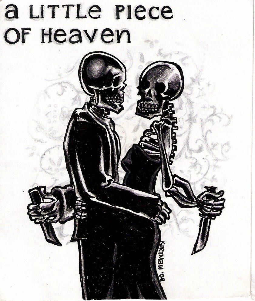 A little piece of heaven lyrics