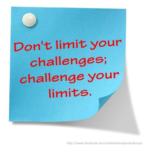 living in joy and abundance challenge your limits