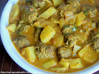 Kitchen Simmer: Sausage and Potato Curry (Throwback Thursday)
