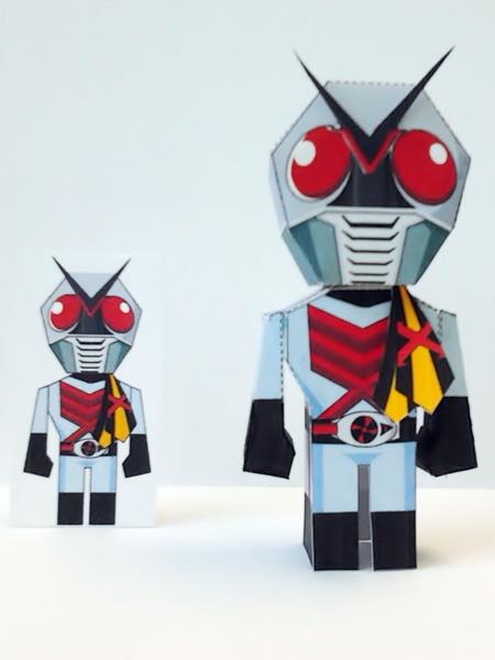Kamen Rider X Paper Toy