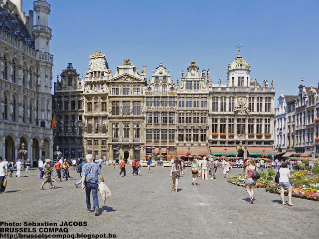 Brussels, 2012/07/23, Grand'Place.