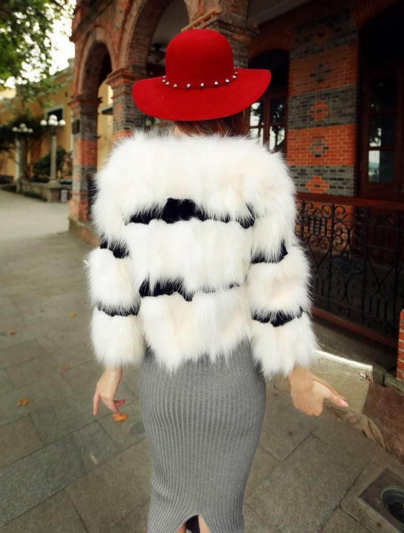fur coat abrigo de piel
