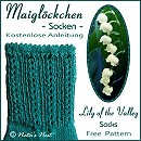 Lily of the Valley Socks - Maiglöckchen-Socken