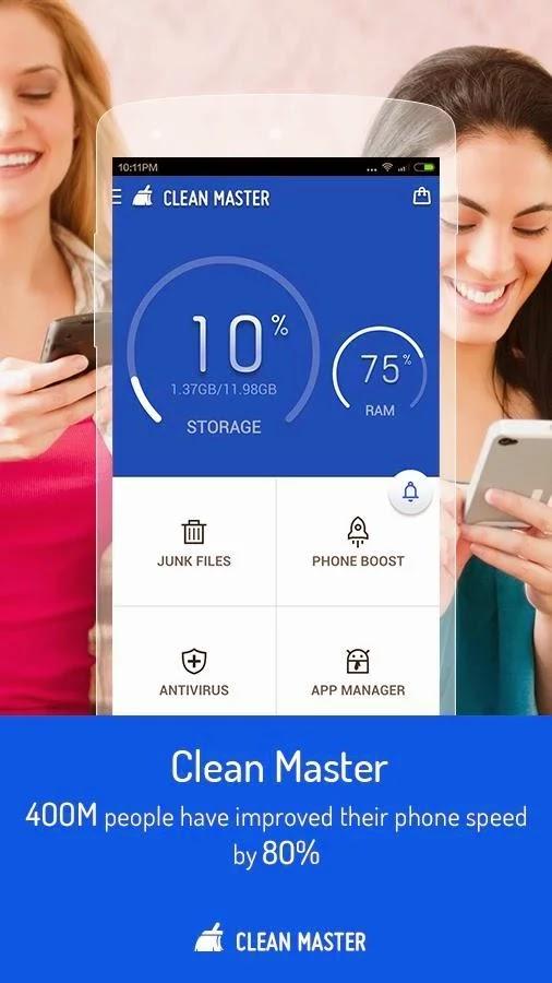 تحميل تطبيق كلين ماستر Clean Master للاندرويد برابط مباشر لوجو صور Logo