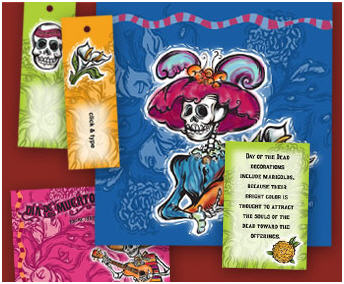 Mommy Maestra Dia De Los Muertos Printables - Day of the dead party invitation template