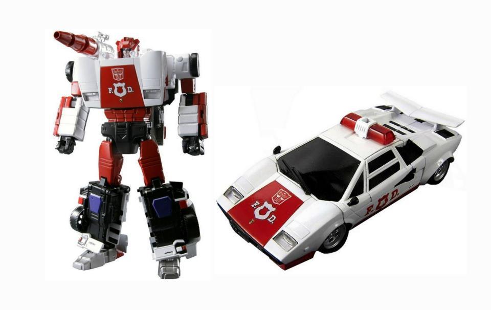 Vhobby Transformers Takara Tomy Transformers Masterpiece Mp 14 Red Alert Lamborghini Countach